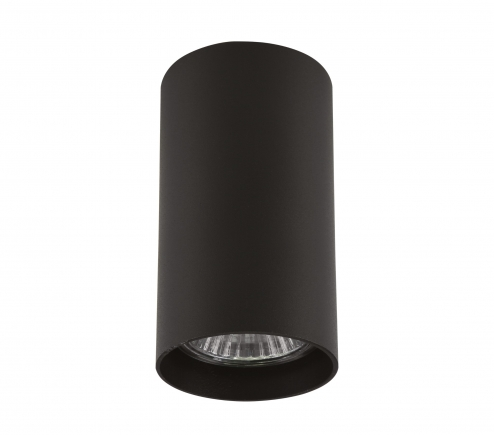 Surface mounted decorative spot luminaire for replaceable halogen or LED lamps 214487