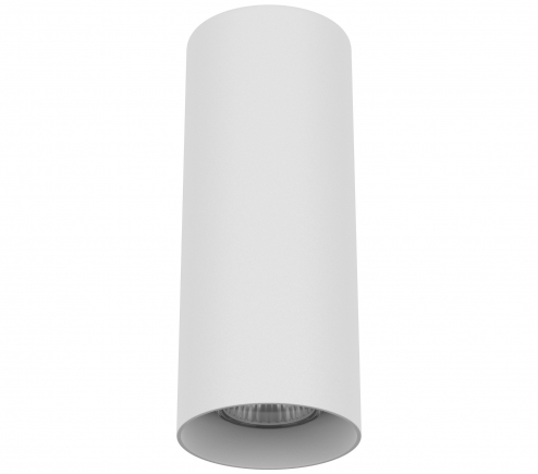 Surface mounted decorative spot luminaire for replaceable halogen or LED lamps 216496